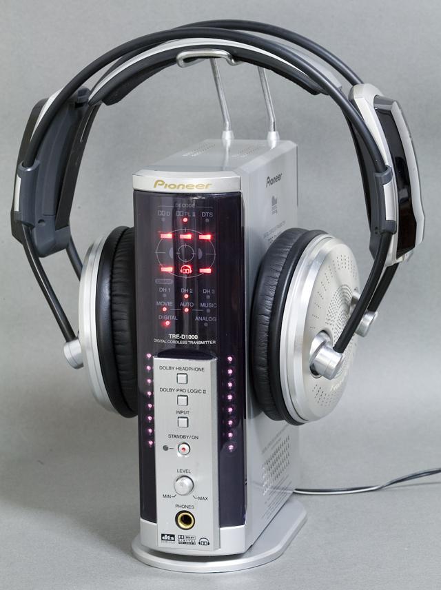 Pioneer:パイオニアのデジタルコードレスサラウンドヘッドホンシステム-01