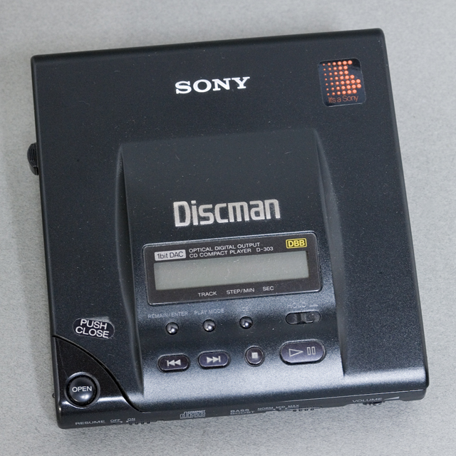 SONY:ソニーのDiscman:ディスクマン「D-303」-01