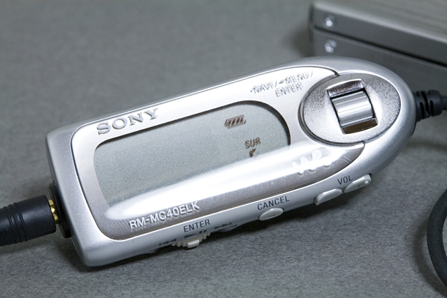 SONY:ソニーのHi-MDウォークマン、「MZ-NH1(録音・再生機)」-04