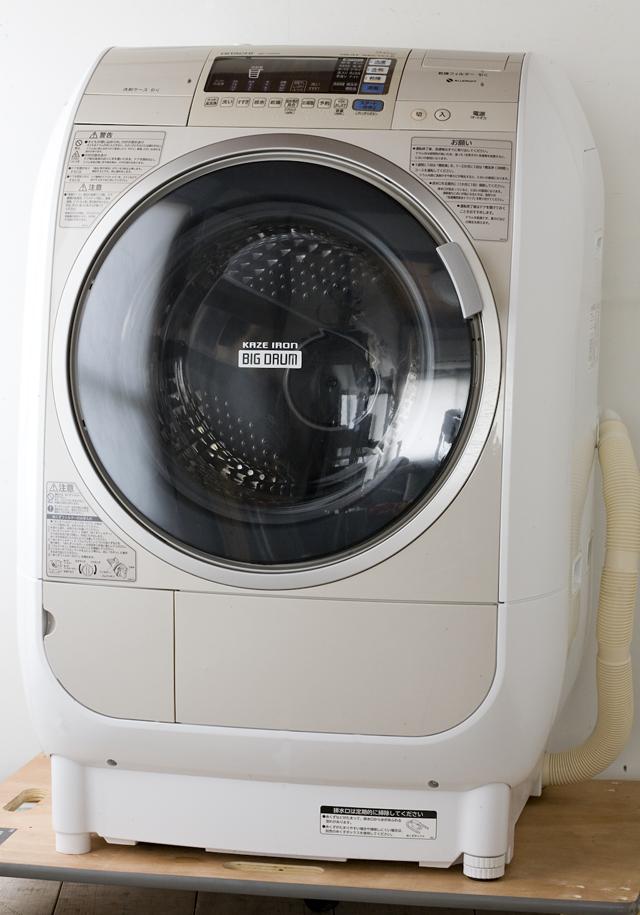 HITACHI:日立のドラム式洗濯乾燥機、ビッグドラム「BD-V3500L」-01