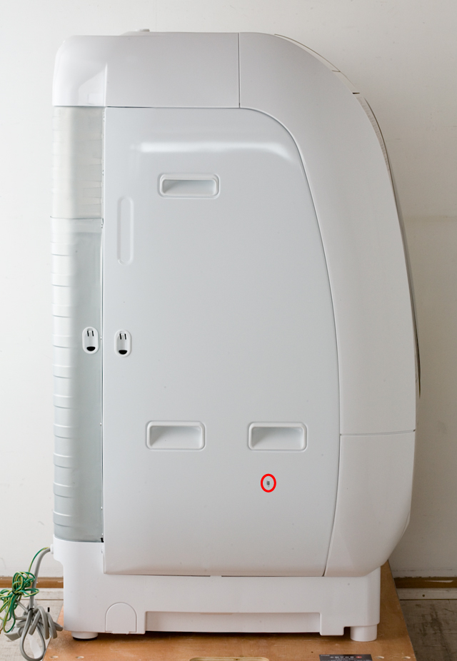 HITACHI:日立のドラム式洗濯乾燥機、ビッグドラム「BD-V3500L」-04a