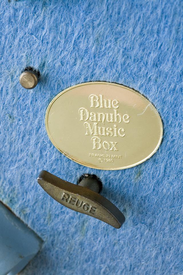 Blue Danube Music Box:ブルーダニューブのREUGE:リュージュオルゴール-10
