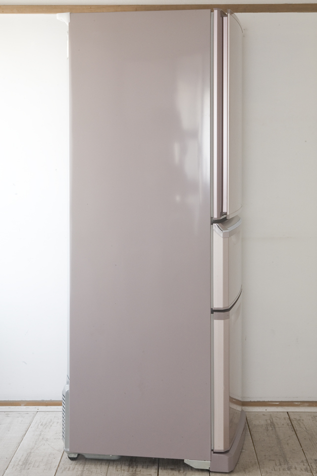 MITSUBISHI:三菱の自動製氷機能付3ドア冷凍冷蔵庫「MR-C34W」-04