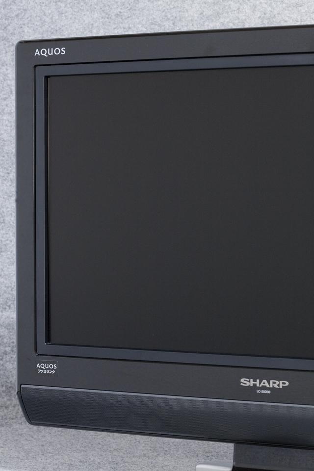 SHARP:シャープの20V型液晶テレビ:TV、AQUOS:アクオス「LC-20D30」-03