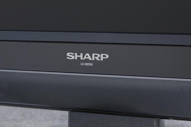 SHARP:シャープの20V型液晶テレビ:TV、AQUOS:アクオス「LC-20D30」-04