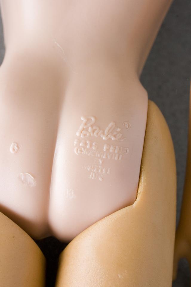 古いMATTEL:マテル社のBarbie:バービー人形-10