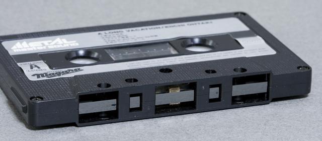 大滝詠一:EIICHIのカセットテープ「ロング・バケイション:A LONG VACATION|メタル・マスター・サウンド」-06