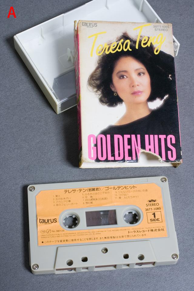 「テレサ・テン:鄧麗君」カセットテープ-02a