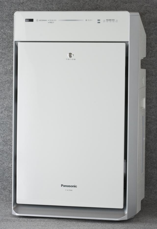 Panasonic:パナソニックの加湿空気清浄機「F-VC70XK」-01