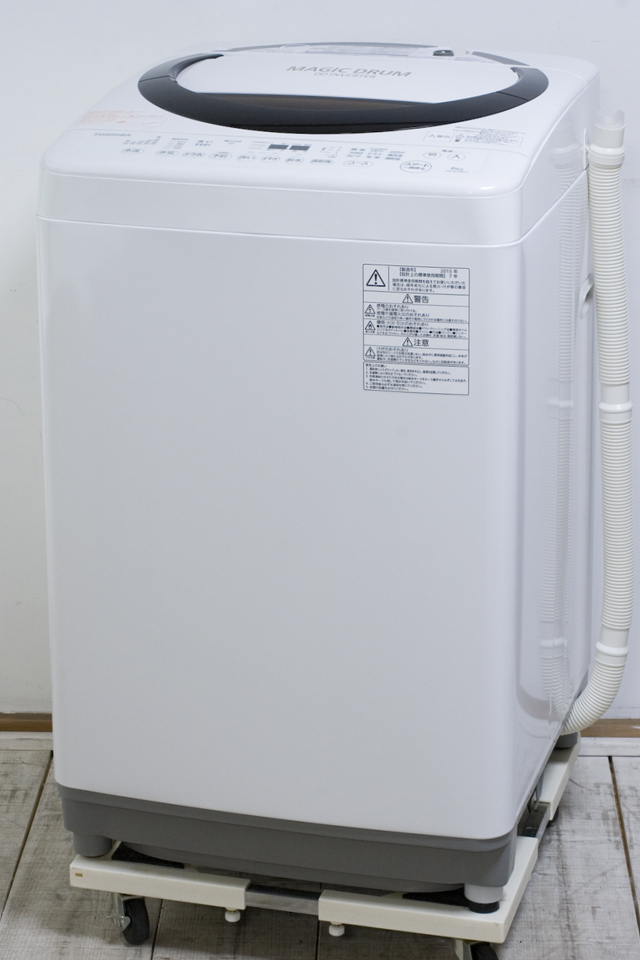 TOSHIBA:東芝の全自動洗濯機「AW-6D3M」-03
