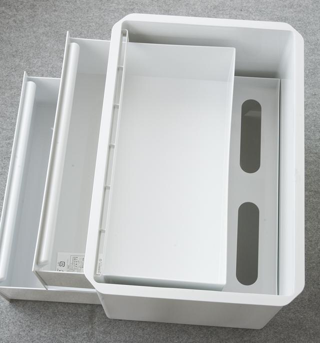 Tupperware:タッパーウェア「マルチオーガナイザー・ワイドサイズ」-05