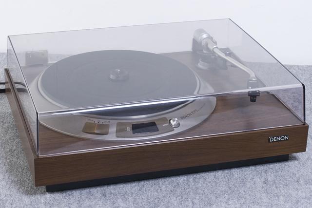 DENON:デノンのレコードプレーヤー「DP-1600」-02