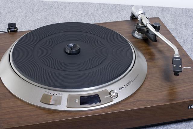 DENON:デノンのレコードプレーヤー「DP-1600」-03