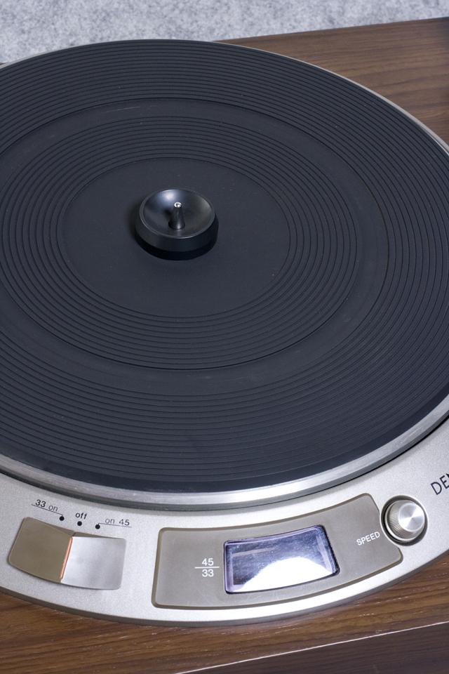 DENON:デノンのレコードプレーヤー「DP-1600」-04