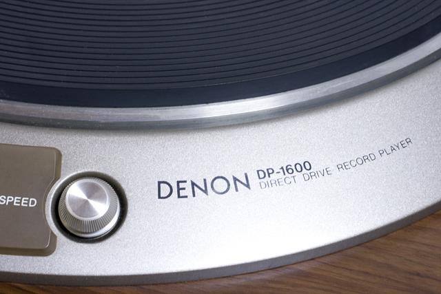 DENON:デノンのレコードプレーヤー「DP-1600」-06