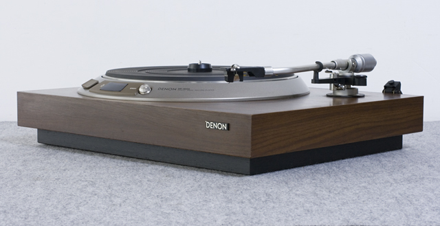 DENON:デノンのレコードプレーヤー「DP-1600」-11