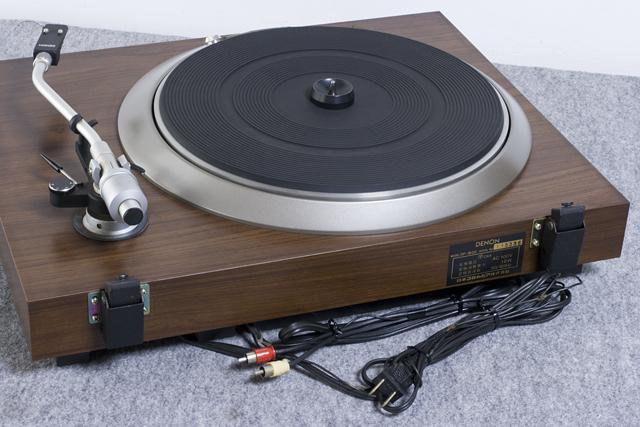 DENON:デノンのレコードプレーヤー「DP-1600」-12