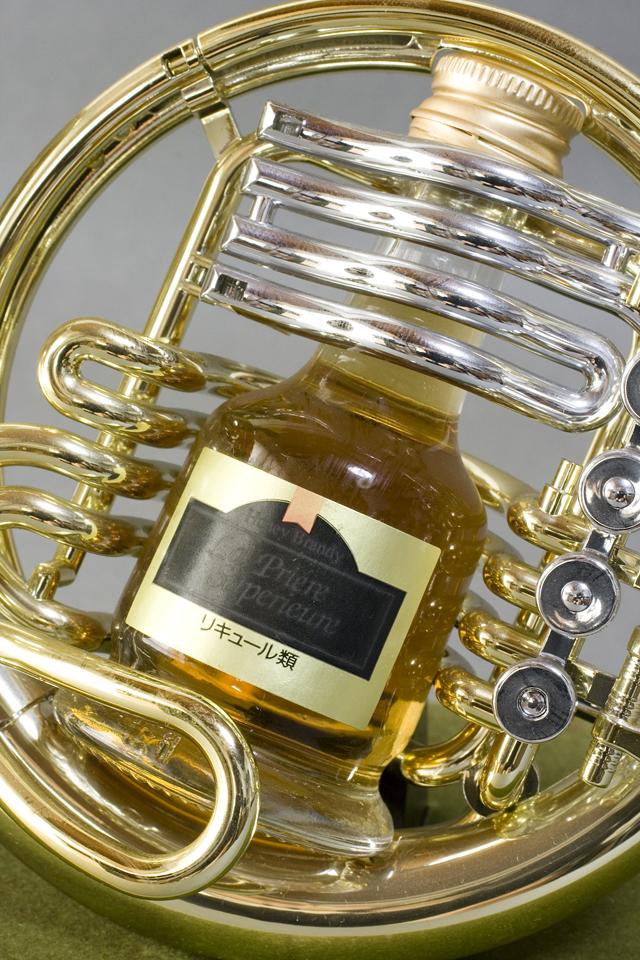 お酒のミニチュアボトル「楽器シリーズ5点セット」-05