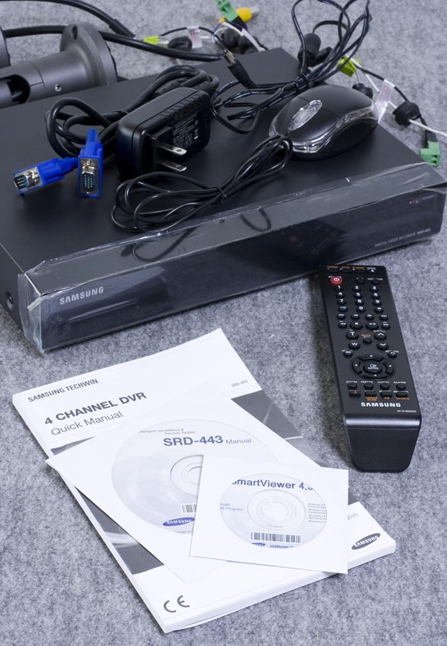 SAMSUNG:サムスンのデジタルビデオレコーダー「SRD-443」-02