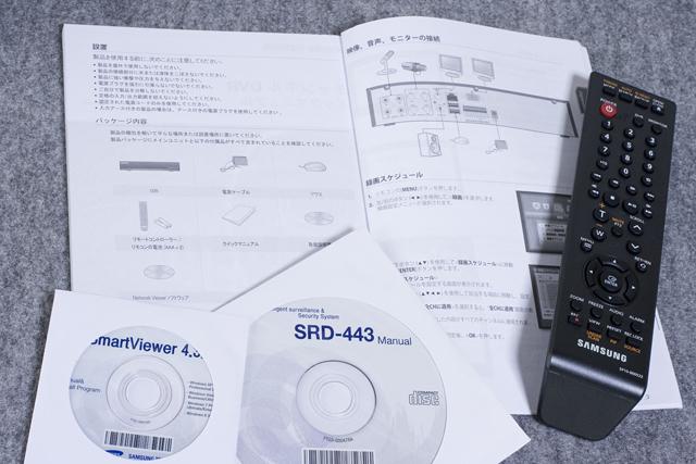 SAMSUNG:サムスンのデジタルビデオレコーダー「SRD-443」-03