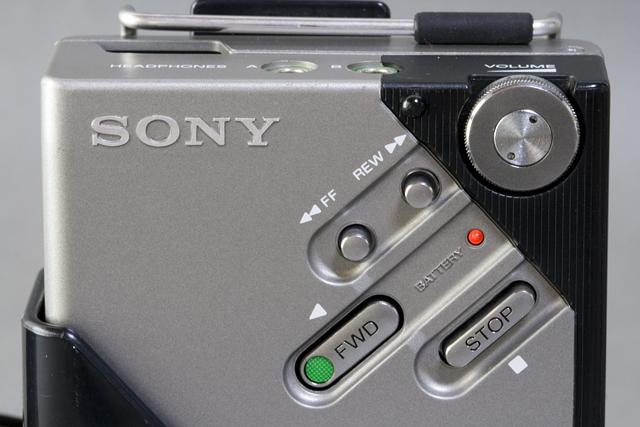 SONY:ソニーのカセットテープレコーダー「WALKMAN:ウォークマンⅡ|WM-2」-02