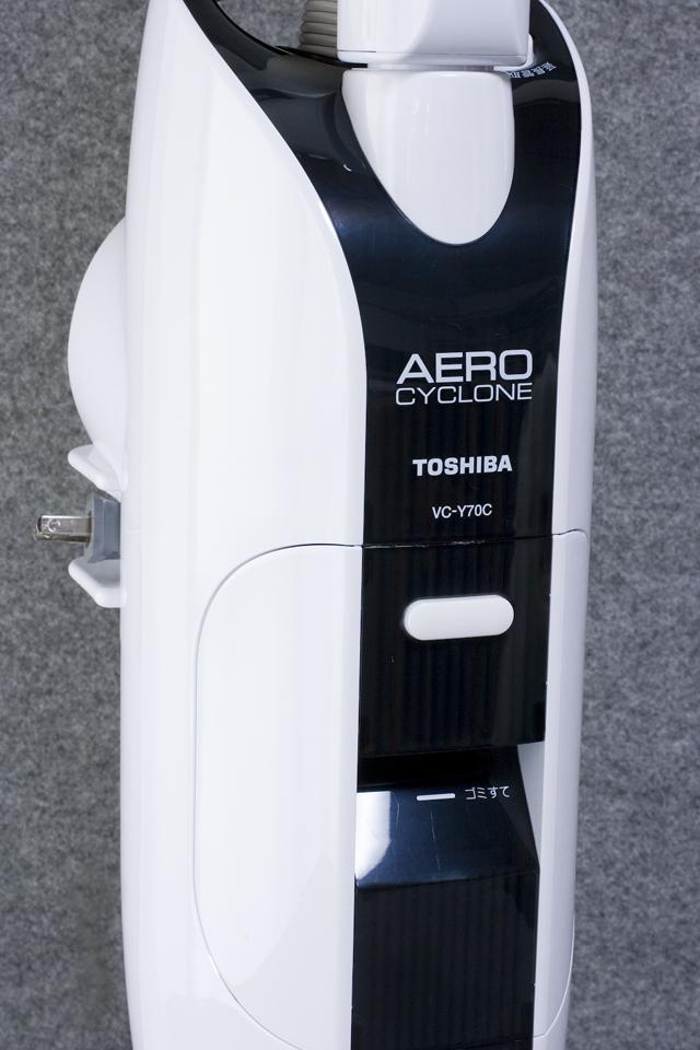 TOSHIBA:東芝のスティッククリーナー掃除機「VC-Y70C」-02