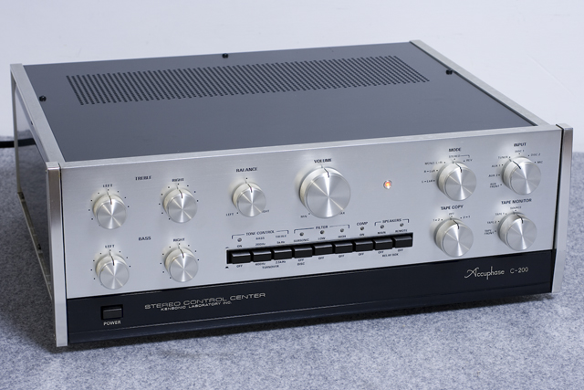 Accuphase:アキュフェーズのコントロールアンプ「C-200」-01