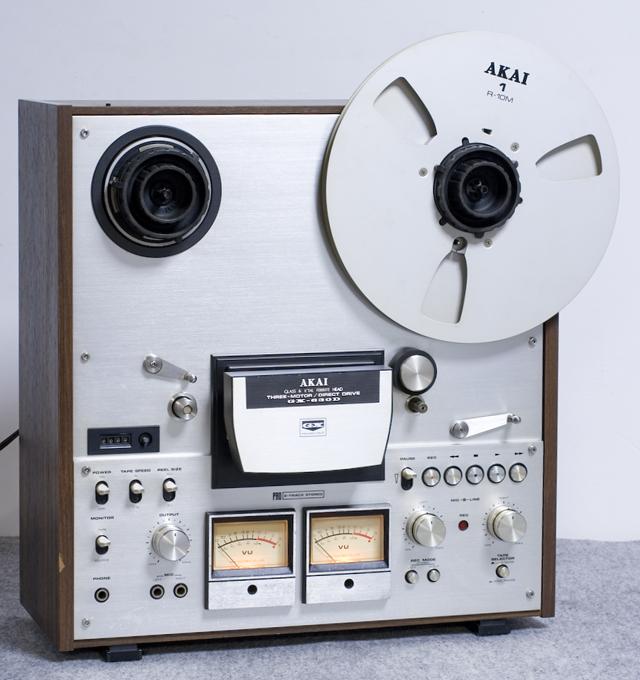 AKAI:アカイのオープンリールデッキ「GX-630D」-01