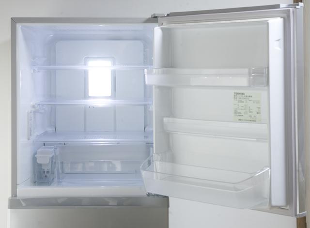 TOSHIBA:東芝の3ドア冷蔵庫「GR-G34S」-07