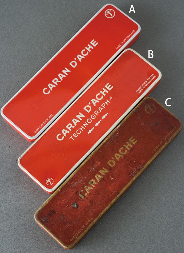 スイス製「CARAN D'ACHE:カランダッシュ」のペン・筆記用具-01