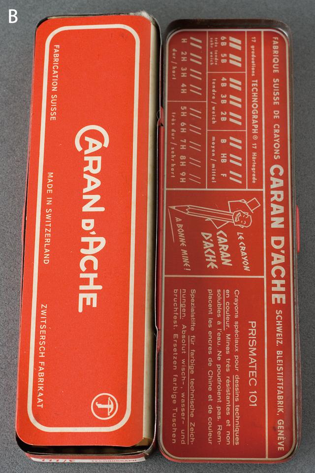 スイス製「CARAN D'ACHE:カランダッシュ」のペン・筆記用具-06a