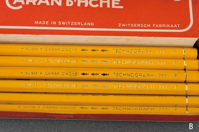 スイス製「CARAN D'ACHE:カランダッシュ」のペン・筆記用具-08a