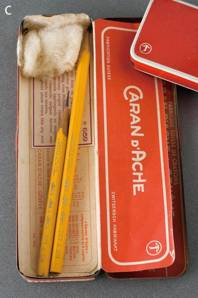 スイス製「CARAN D'ACHE:カランダッシュ」のペン・筆記用具-10a