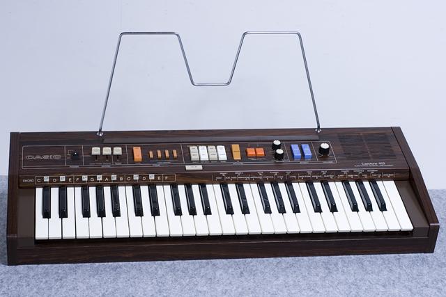 CASIO:カシオのキーボード「Casiotone 403」-01