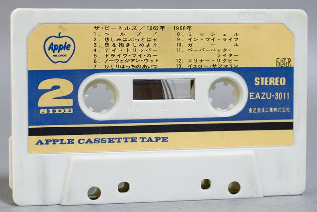 BEATLES:ビートルズのカセットテープ3本セット-05
