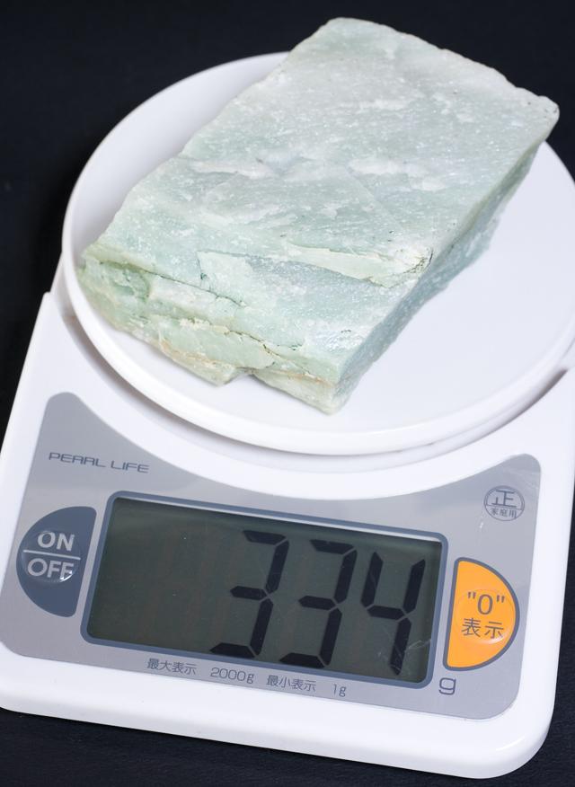 翡翠の原石:約2,260g-07
