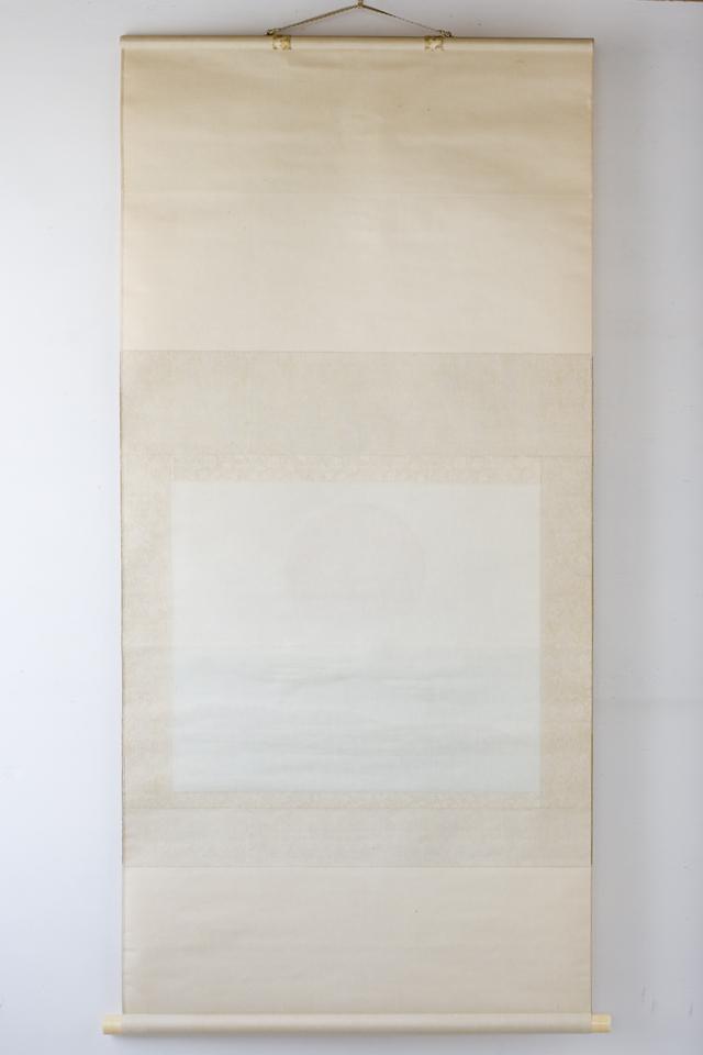 日本画家「川村憲邦:かわむらけんぽう」旭日双鶴-11