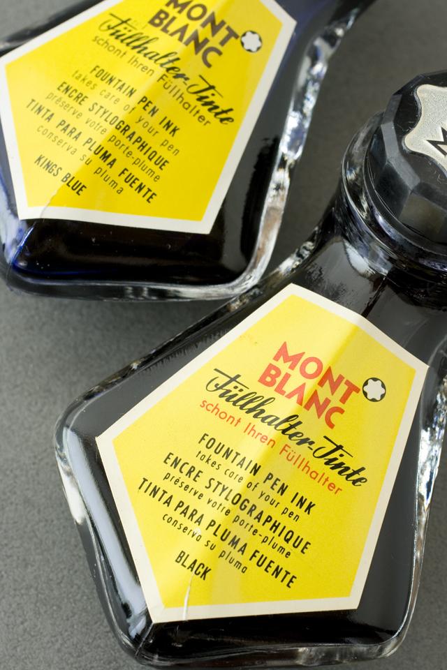 MONTBLANC:モンブラン」万年筆インク瓶2種セット-04