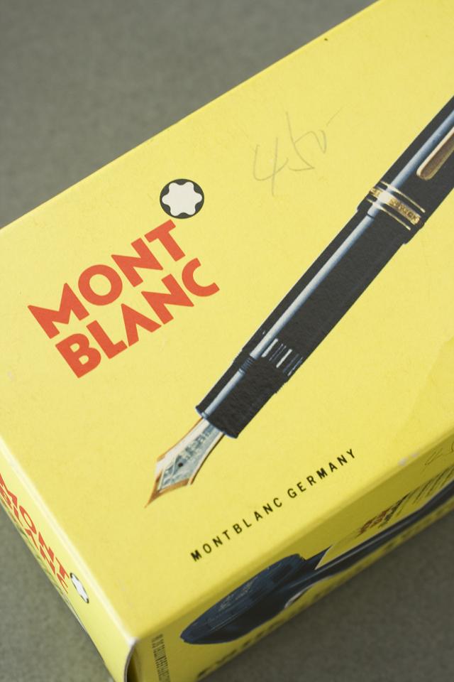 MONTBLANC:モンブラン」万年筆インク瓶2種セット-07