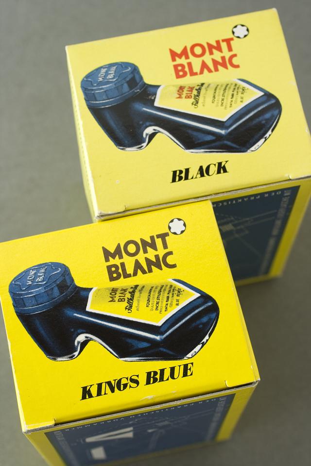 MONTBLANC:モンブラン」万年筆インク瓶2種セット-08