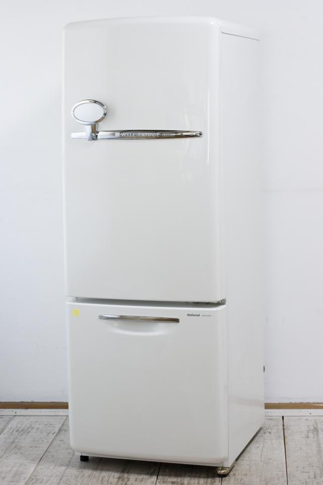 National:ナショナルの「Will:ウィルシリーズ」2ドア冷蔵庫「NR-B16RA-W」-01
