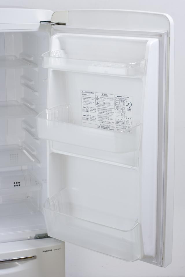 National:ナショナルの「Will:ウィルシリーズ」2ドア冷蔵庫「NR-B16RA-W」-07