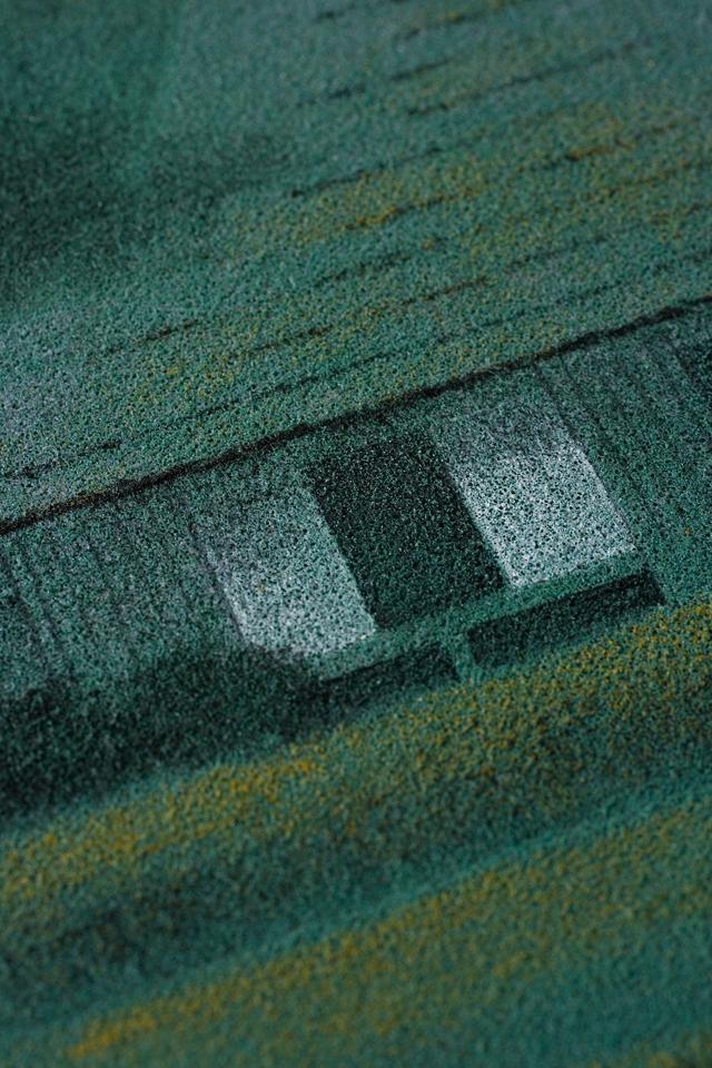日本画家「宇田裕彦:うだひろひこ」の里山風景画「洛北の里」-07