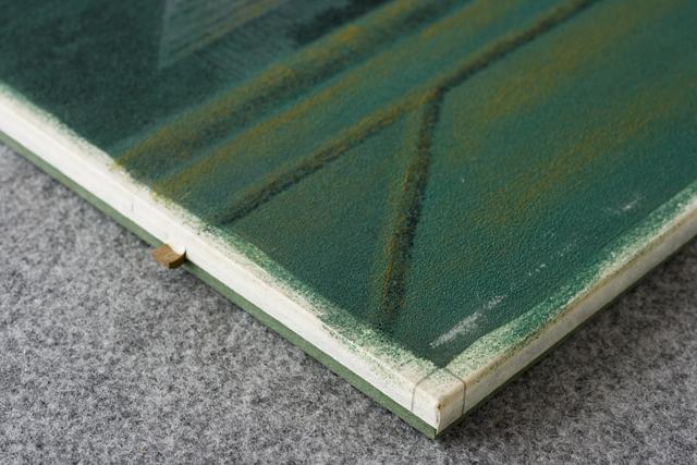 日本画家「宇田裕彦:うだひろひこ」の里山風景画「洛北の里」-08