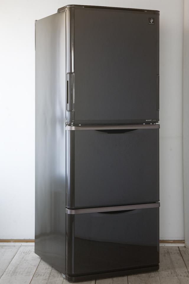 SHARP:シャープのプラズマクラスター3ドア冷蔵庫「SJ-PW31X-T」-01