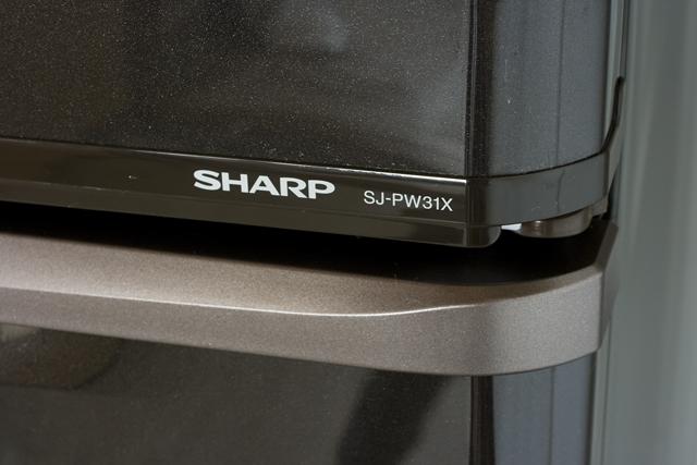 SHARP:シャープのプラズマクラスター3ドア冷蔵庫「SJ-PW31X-T」-06