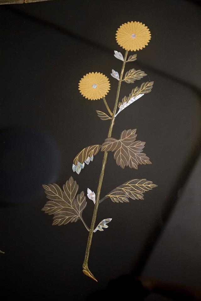 伝統工芸品「輪島塗蒔絵座卓」-03