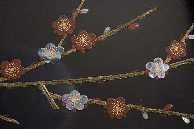 伝統工芸品「輪島塗蒔絵座卓」-11