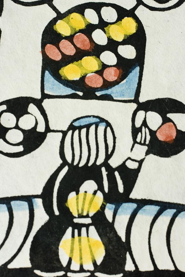版画家「渡辺禎雄:SADAO WATANABE」の聖書版画「最後の晩餐」-07