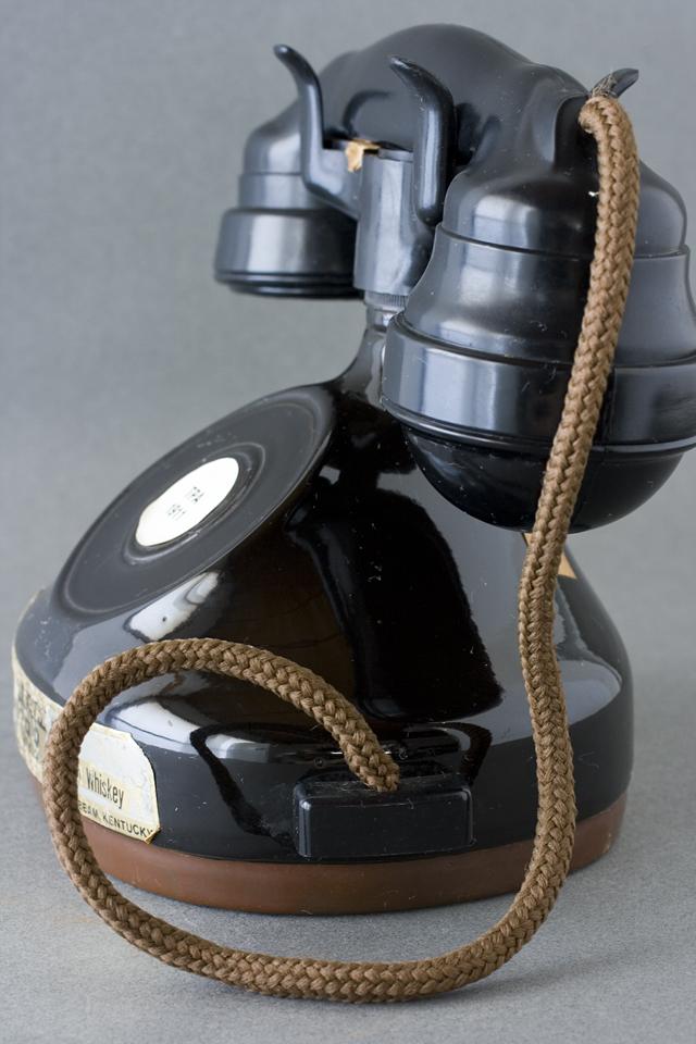 BEAM:ビーム社の「電話機型ボトル容器」未開栓バーボンウイスキー-06